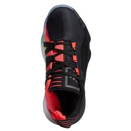 Buty adidas Jr Dame 6 J EH2791 czarne wielokolorowe 2