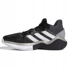 Buty adidas Harden Stepback Jr EF9905 czarne czarne 1