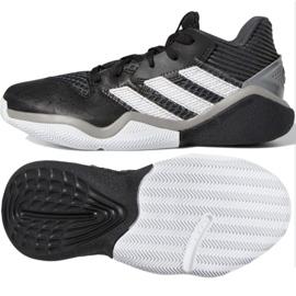 Buty adidas Harden Stepback Jr EF9905 czarne czarne 2