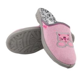 Befado kolorowe obuwie dziecięce 707Y409 różowe 5