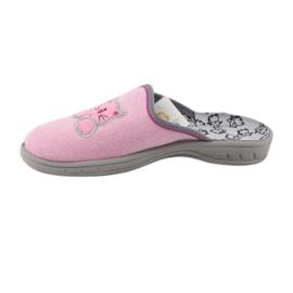 Befado kolorowe obuwie dziecięce 707Y409 różowe 3