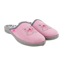 Befado kolorowe obuwie dziecięce 707Y409 różowe 4