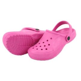 Befado inne obuwie dziecięce - róż 159X001 różowe 5