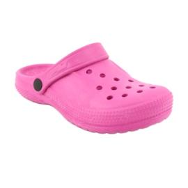 Befado inne obuwie dziecięce - róż 159X001 różowe 2