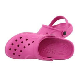 Befado inne obuwie dziecięce - róż 159X001 różowe 6