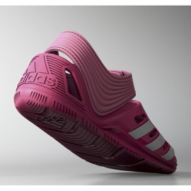 Sandały adidas Zsandal Jr B44457 różowe 2