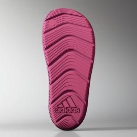 Sandały adidas Zsandal Jr B44457 różowe 4