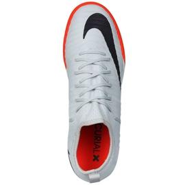Buty halowe Nike MercurialX Finale Ii czarne szare 3