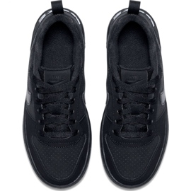 Buty Nike Court Borough Low Gs 839985 001 czarne 1