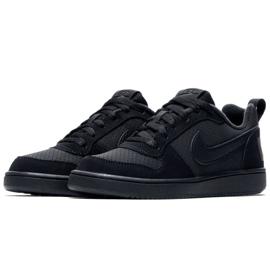 Buty Nike Court Borough Low Gs 839985 001 czarne 2
