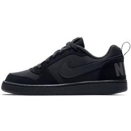 Buty Nike Court Borough Low Gs 839985 001 czarne 3