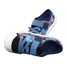Befado obuwie dziecięce 251X147 niebieskie wielokolorowe 6