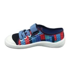 Befado obuwie dziecięce 251X147 niebieskie wielokolorowe 3