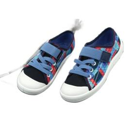 Befado obuwie dziecięce 251X147 niebieskie wielokolorowe 4