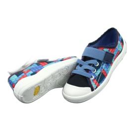 Befado obuwie dziecięce 251X147 niebieskie wielokolorowe 5
