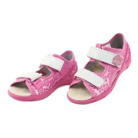 Befado obuwie dziecięce pu 065P138 różowe 4