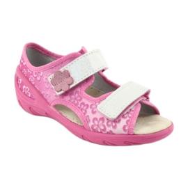 Befado obuwie dziecięce pu 065P138 różowe 2