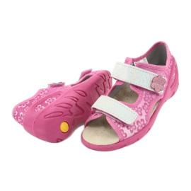 Befado obuwie dziecięce pu 065P138 różowe 5