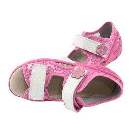 Befado obuwie dziecięce pu 065P138 różowe 6