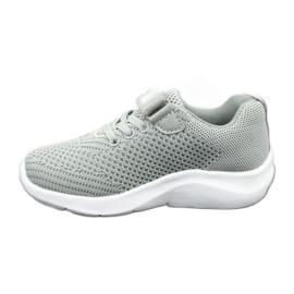 Befado obuwie dziecięce 516X046 szare 3