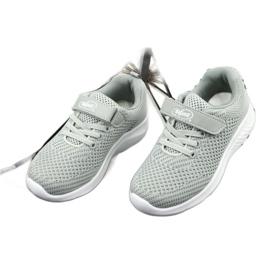 Befado obuwie dziecięce 516X046 szare 4