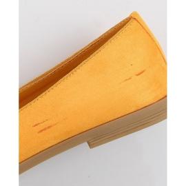 Lordsy damskie miodowe 2358 Yellow Ii Gatunek żółte 4