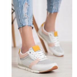 Kylie Ażurowe Buty Sportowe białe 2