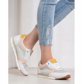 Kylie Ażurowe Buty Sportowe białe 3
