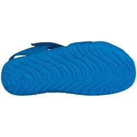 Buty Nike Sunray Protect 2 Jr 943826 301 niebieskie 1
