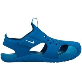 Buty Nike Sunray Protect 2 Jr 943826 301 niebieskie 2