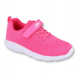 Befado obuwie dziecięce 516X044 różowe 1