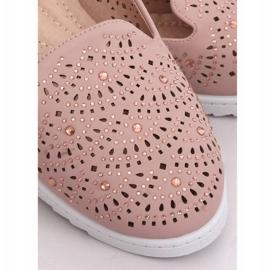 Lordsy ażurowe różowe ZA05P Pink 3