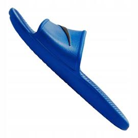 Klapki Nike Kawa Shower M 832528-403 niebieskie 1