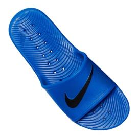 Klapki Nike Kawa Shower M 832528-403 niebieskie 3