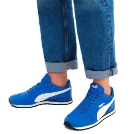 Buty Puma St Runner v2 Nl M 365278 23 niebieskie 5