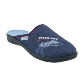 Befado kolorowe obuwie dziecięce 707Y403 czerwone granatowe niebieskie 2