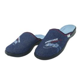 Befado kolorowe obuwie dziecięce 707Y403 czerwone granatowe niebieskie 4