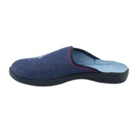 Befado kolorowe obuwie dziecięce 707Y403 czerwone granatowe niebieskie 3