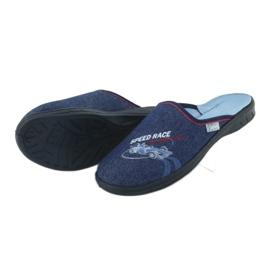 Befado kolorowe obuwie dziecięce 707Y403 czerwone granatowe niebieskie 5