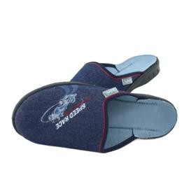 Befado kolorowe obuwie dziecięce 707Y403 czerwone granatowe niebieskie 6