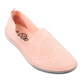 McKey Trampki tenisówki wsuwane łososiowy różowe 1