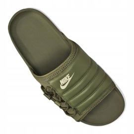 Klapki Nike Asuna Slide M CI8800-300 zielone 1