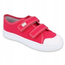 Befado obuwie dziecięce 440X011 różowe 1
