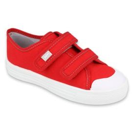 Befado obuwie dziecięce 440X012 czerwone 1