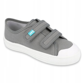 Befado obuwie dziecięce 440X014 szare 1