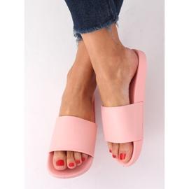 Klapki damskie różowe CK78P Pink 1