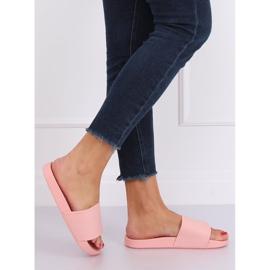 Klapki damskie różowe CK78P Pink 2
