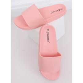 Klapki damskie różowe CK78P Pink 3