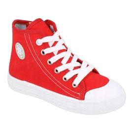 Befado obuwie dziecięce 438X011 czerwone 1