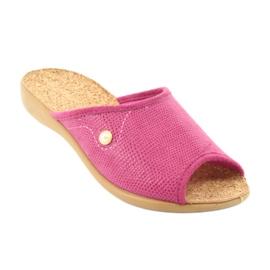 Befado obuwie damskie pu 254D092 różowe 2